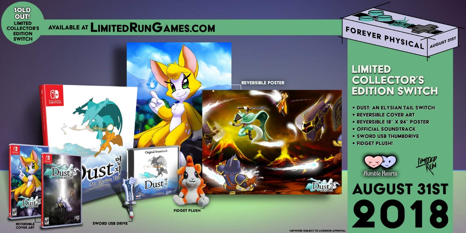 Amazon.com: Dust: An Elysian Tail Collectors Edition [for ...