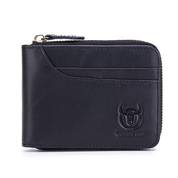 Kleine Brieftasche Männer Echte Leder Geldbörsen Rindsleder Mini Brieftaschen Schwarz Und Braun Qualität Garantieren Geldbeutel
