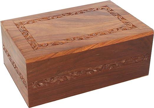 UrnsWithLove Cenizas funerarias de cremación sólida, urna de ...