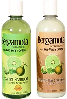 Amazon.com : Bergamot Shampoo 500ml, Shampoo de Bergamota ...
