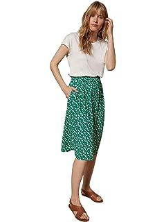 ce49bbe8f6a68 Cyrillus Jupe Femme crêpe de Viscose: Amazon.fr: Vêtements et ...