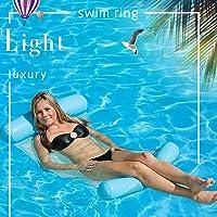 MSZQ Opblaasbare Waterhangmat Drijvend Bed Lounge Stoel Drifter Zwembad Strand Float voor Volwassenen