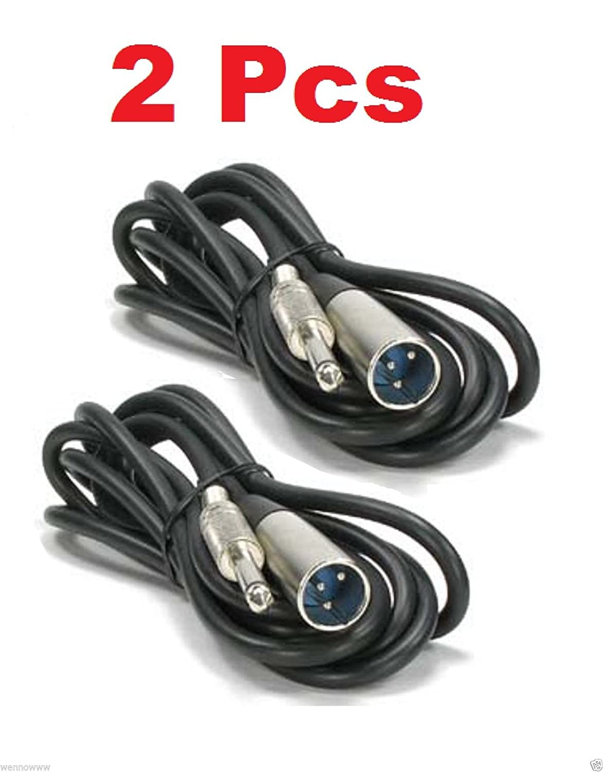 Wennow 25 ft XLR 3 - Pinオスto 1 / 4