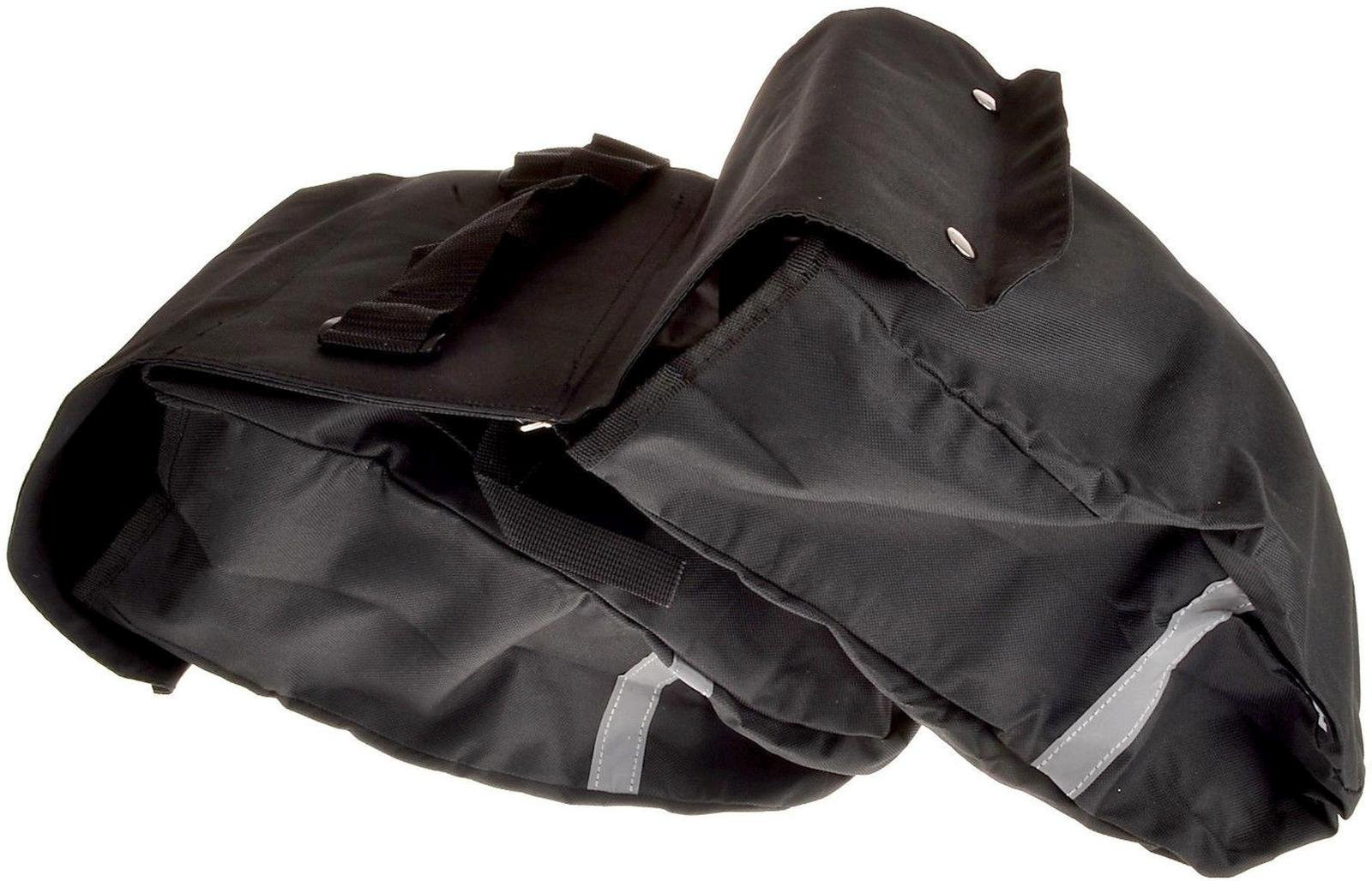 Huffy Cruiser Rollup Rear Pannier Bag Black by HUFY (Image #4)