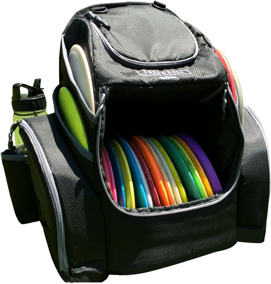 Disc Golf Backpack with Dual Coolers