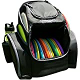 The Throwback Pack 2.0 - Disc Golf Backpack with Dual Coolers - Frisbee Disc Golf Bag That Holds 20-25 Discs