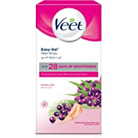 Veet Hair Removal Cold Wax Strips Normal Skin - Pack Of 30 + Pack Of 10 Free