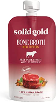 Solid Gold Turkey Bone Broth Dog Food Topper