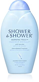 Shower To Shower Powder 13 Ounce Morning Fresh (3 Pack)