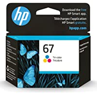 HP 67 | Ink Cartridge | Tri-Color | 3YM55AN ( Packaging May Vary )