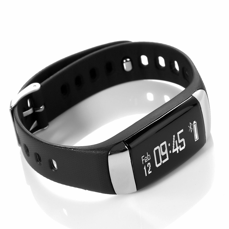 J-Style Bluetooth Fitness Activity Tracker bracelet-wireless ...