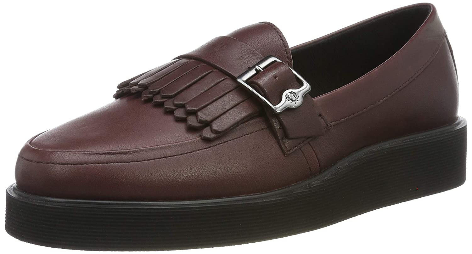 Fred Perry Mocasines Clásicos Fp Newburgh Loafer Vino EU 37 (UK 4)
