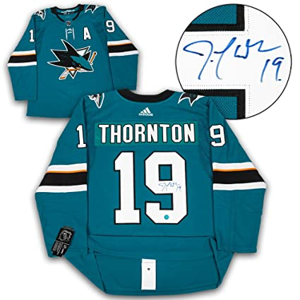 Image Unavailable. Image not available for. Color  Joe Thornton San Jose  Sharks Autographed Adidas Authentic Hockey Jersey 16f2689b2