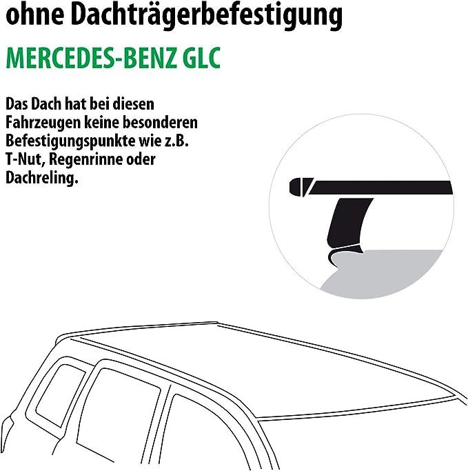 Rameder Komplettsatz Dachträger Tema Für Mercedes Benz Glc 118786 14305 1 Auto