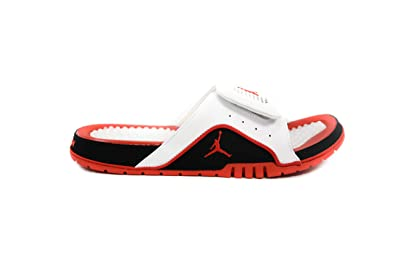 5990deb79 Jordan Air Hydro IV Retro White Fire Red-Black