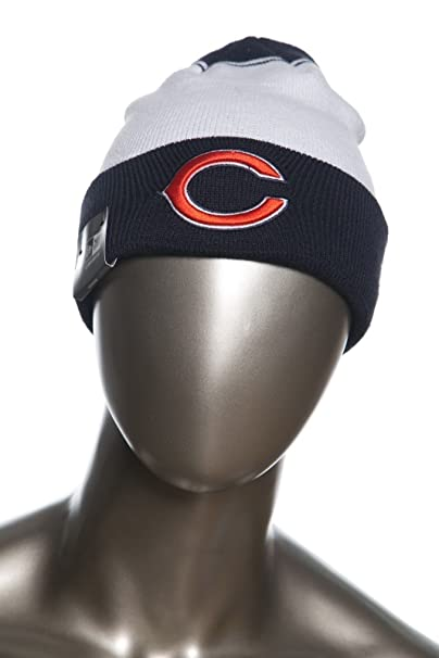 buy online a398e 89412 Image Unavailable. Image not available for. Color  New Era NFL Team Cuffed  Beanies Knit Caps OTC One Size Fits Most (Chicago