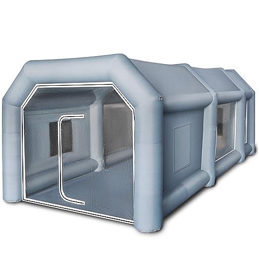 Husuper Cabina de Pintura Inflable 6 x 3 x 2.5 M Carpa ...