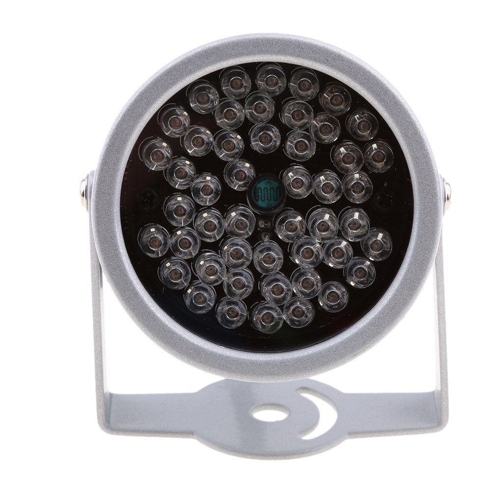 Dovewill 20M Solid Metal Housing Dome illuminator light IR Infrared 48 LED Night Vision For Security CCTV Camera