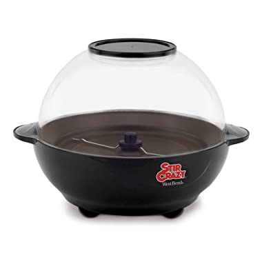 West Bend 82306 Stir Crazy 6-Quart Electric Popcorn Popper (Discontinued by Manufacturer)