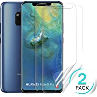 TERSELY【2 Pack】Screen Protector for Huawei Mate 20 Pro, HYDROGEL Thin Flex Full Cover Screen Protector Curved Soft TPU Flexible Film for Huawei Mate 20 Pro[NOT Tempered Glass][NO Bubbles]