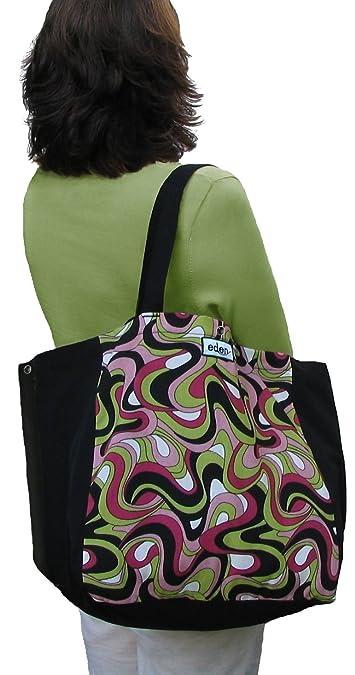 Amazon.com: Eden bolsas Basics Black bolsa Bolsa Grande EE ...
