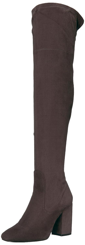 Kenneth Cole New York Women's Carah Knee High Tall Stretch Engineer Boot B071YVG81Q 5.5 B(M) US|Asphault