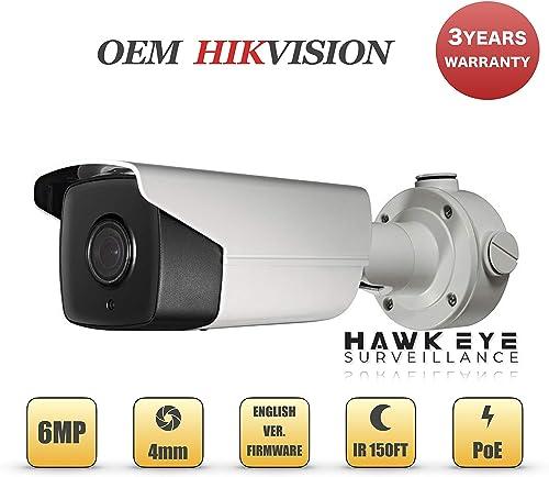 6MP PoE Security IP Camera