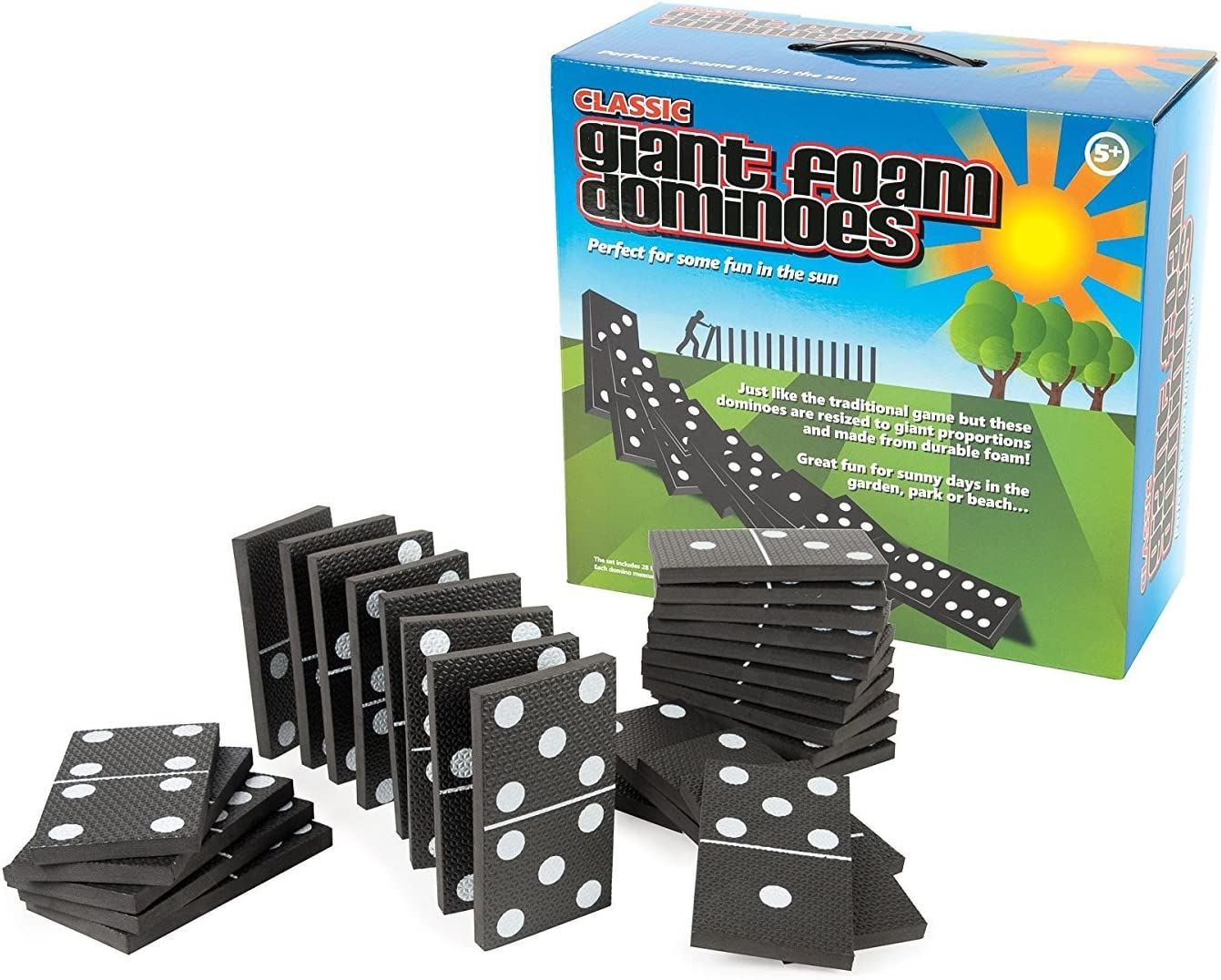 Giant Foam Dominoes: Amazon.es: Juguetes y juegos