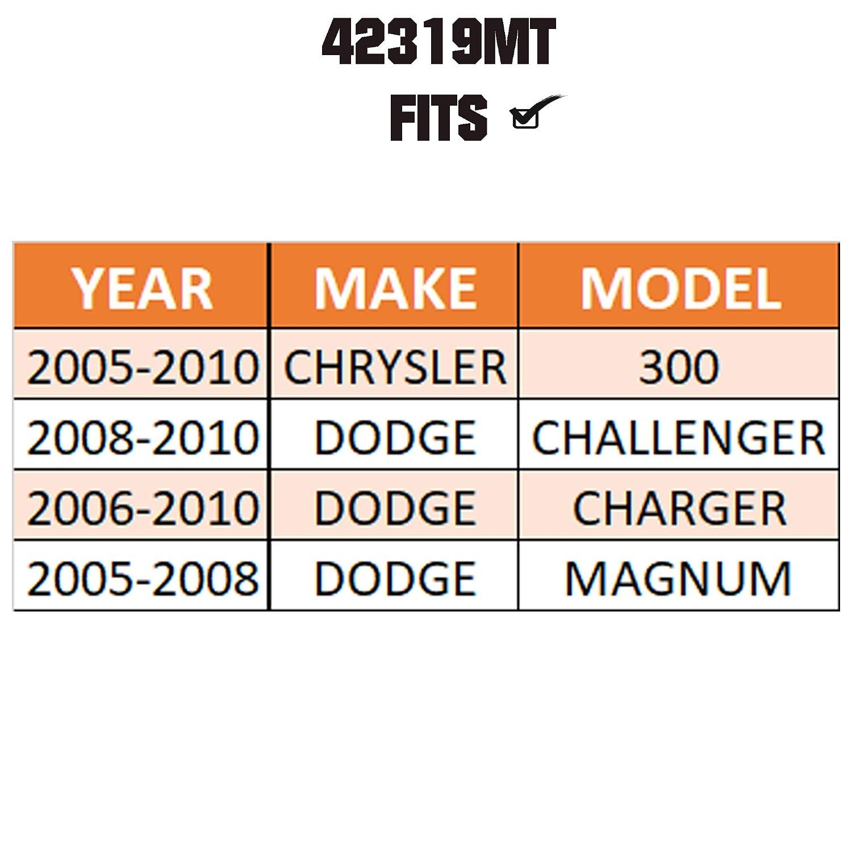 EV80702 CHRYSLER 300 /& DODGE CHALLENGER//CHARGER//MAGNUM For METRIX PREMIUM 42319MT Inner Tie Rod End Made in TURKEY