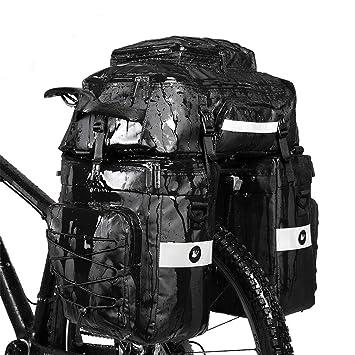 Amazon.com: Rhinowalk - Juego de alforjas para bicicleta ...