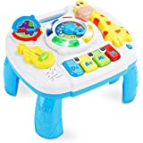 baccow Baby Toys 6 to 12-18 Months Musical Educational Learning Activity Table Center Toys for Toddlers Infants Kids 1 2…