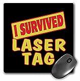 """3D Rose """"I Survived Laser Tag Survival Pride And"""