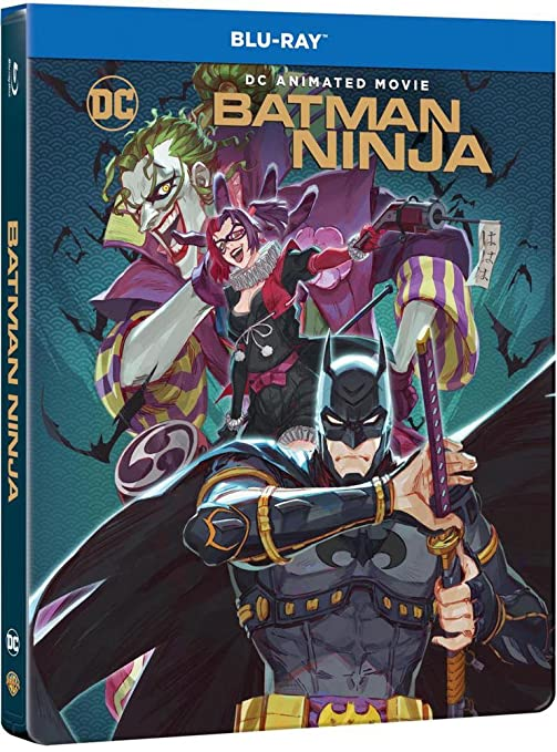 Batman Ninja [Italia] [Blu-ray]: Amazon.es: Junpei Mizusaki ...