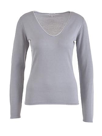 Milano Italy Damen Pullover 278, Grau: : Bekleidung