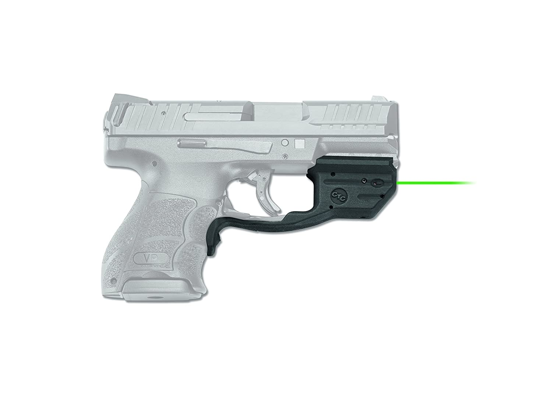 Crimson Trace Laserguard Sight for Heckler & Koch Vp9/Vp40 & VP9SK,  Black/Green Laser, LG-499G