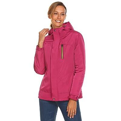 COORUN Women's Winter Waterproof Cotton-padded Outwear Coat Jackets Outdoor Windbreaker Raincoat