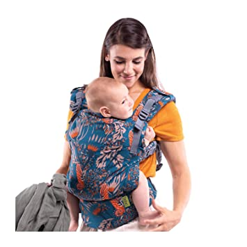 Boba X Adjustable Baby and Toddler Carrier - Front and Back Carrier -  Mademoiselle