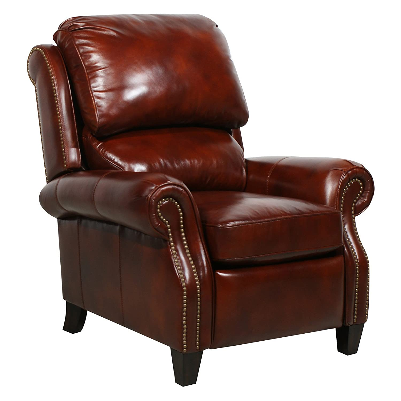 Amazoncom Barcalounger Churchill ll Art Burl Leather