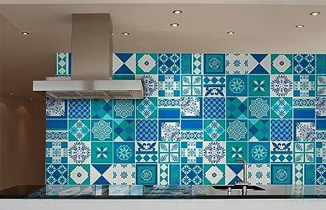 Piastrelle marroni per cucina moderna cucina moderna blu u idee e