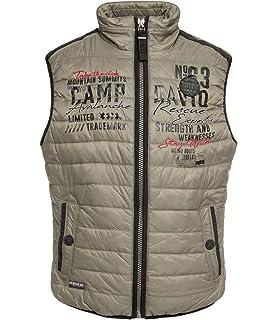 NEU Camp David Herren Softshelljacke mit Stehkragen weiß Jacke M XXXL | eBay