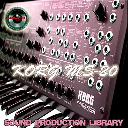 Amazon com: KORG MS20 - HUGE Original Samples Library in