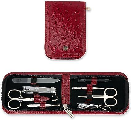 3 Swords | Kit/Set/Conjunto/estuche de manicure – Manicura – Pedicura – Beauty/Beaute – el cuidado de las uñas/personnels/pies/manos | 8 piezas | marca de qualitè (001528): Amazon.es: Belleza