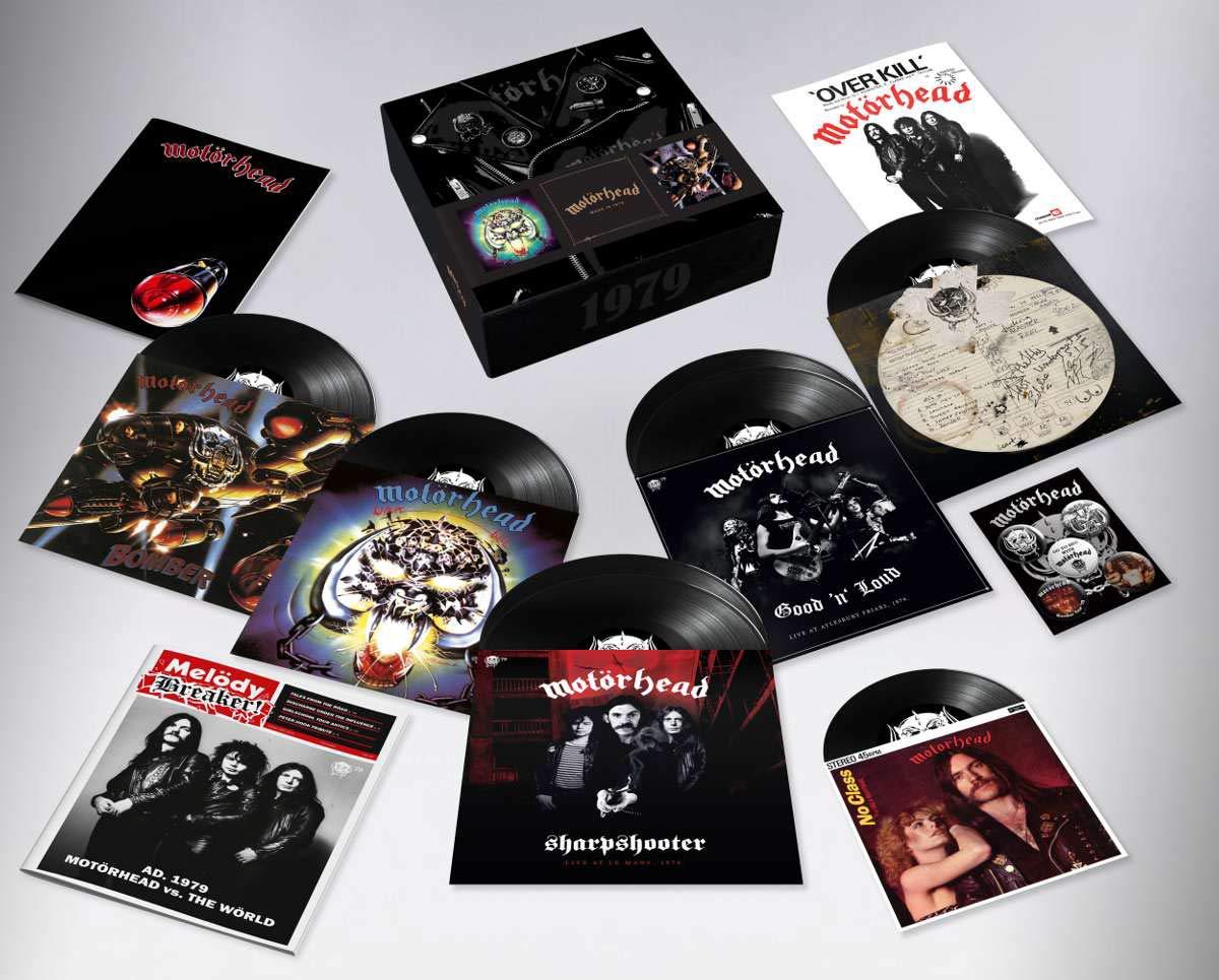 Motörhead - Motörhead 1979 Box Set (7 LP-Vinilo + Single 7'')