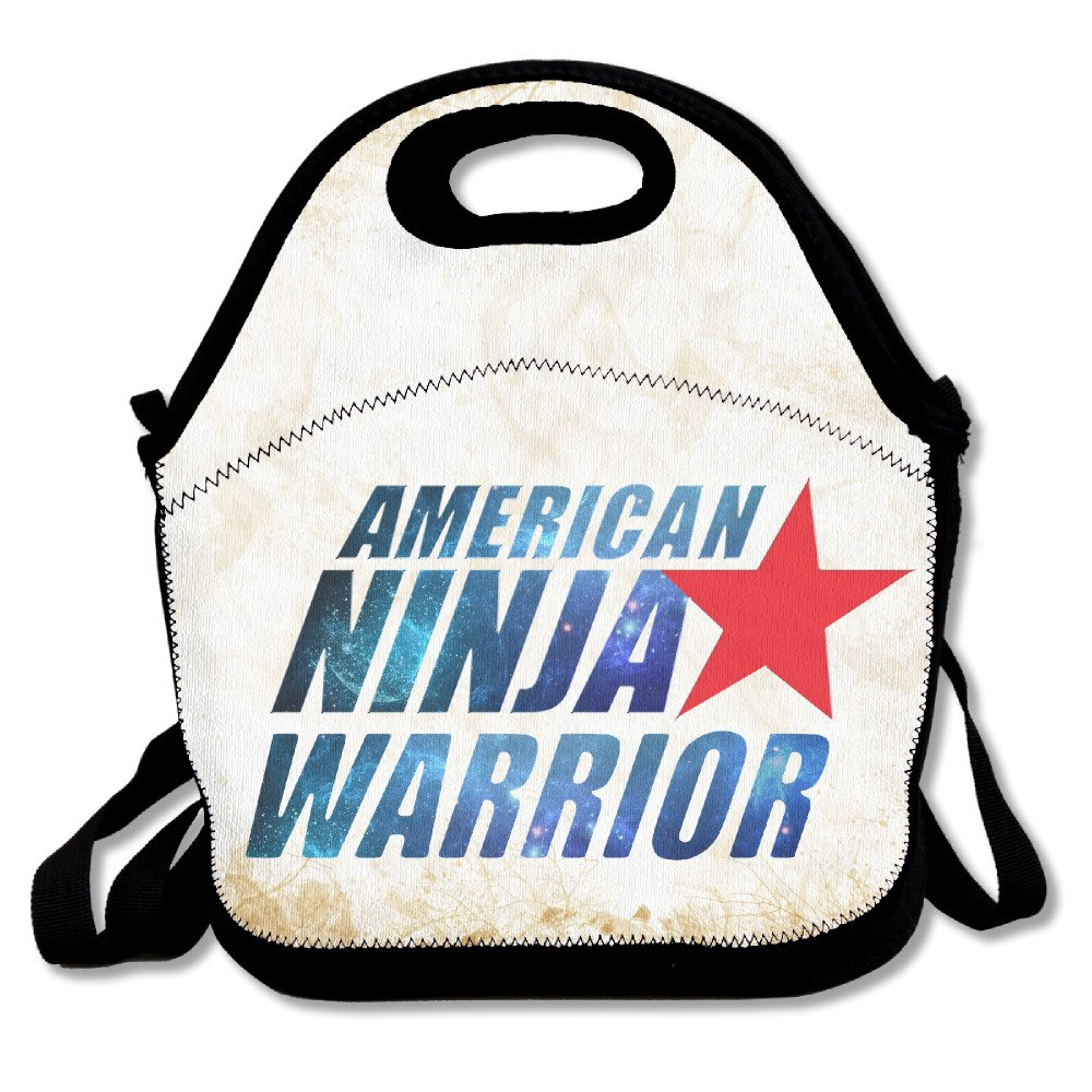 Amazon.com: American Ninja Warrior Logo Reusable Lunch Bag ...