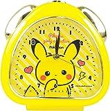 ティーズファクトリー 置き時計 イエロー H13.5×W13×D5cm ポケモン おむすびクロック ガーリーコレクション PM-5520212YE