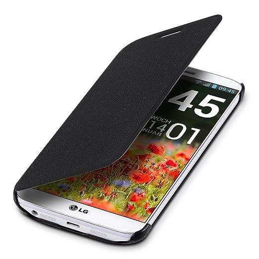 94 opinioni per kwmobile Cover per LG G2- Custodia protettiva apribile a libro Case stile flip