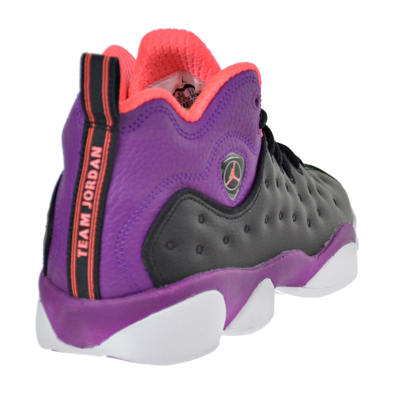 low priced 3492c 14f9e Amazon.com   Jordan Jumpman Team II GG Big Kid s Shoes  Black Orange Purple White 820276-008 (6 M US)   Basketball