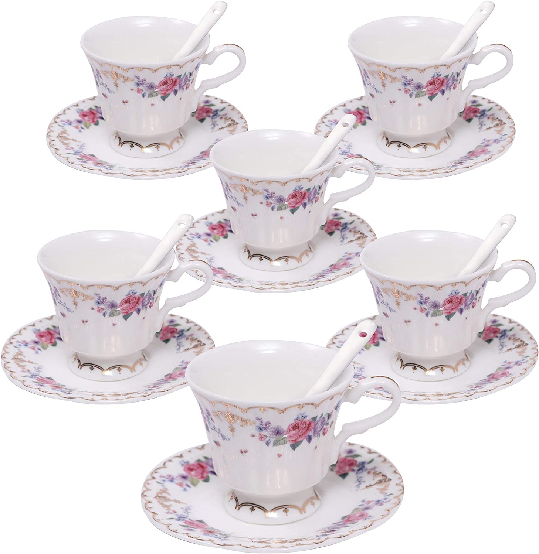 Fundonut Tasse Thé Et Soucoupe Cadeau Set Kitsch Tasse De Café Cadeau Nouveauté