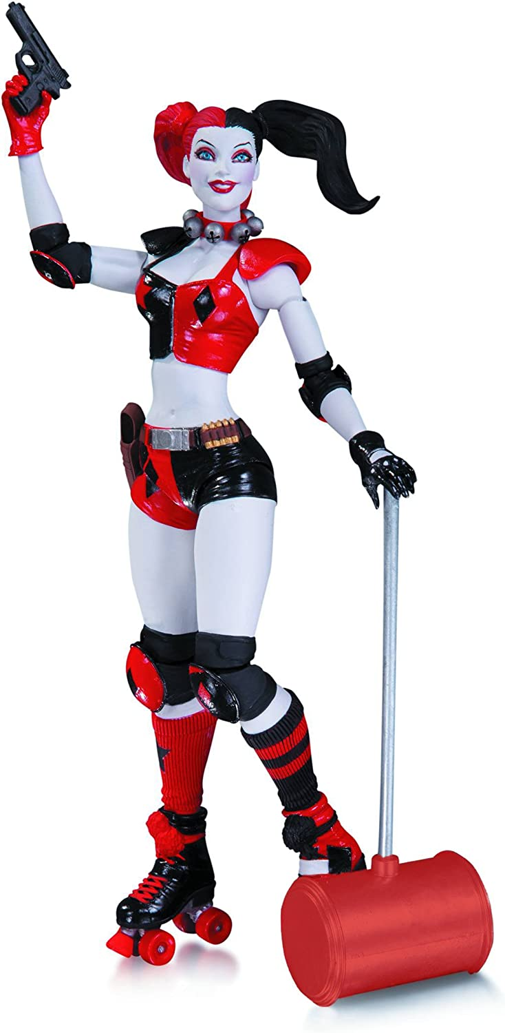 Suicide Squad Joker Harley Quinn Catwoman Action Figure Collection Kids Toy Gift
