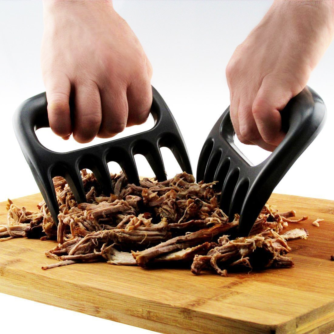 sea-junop 2 Pcs Creative Bear Claw Meat Shredder